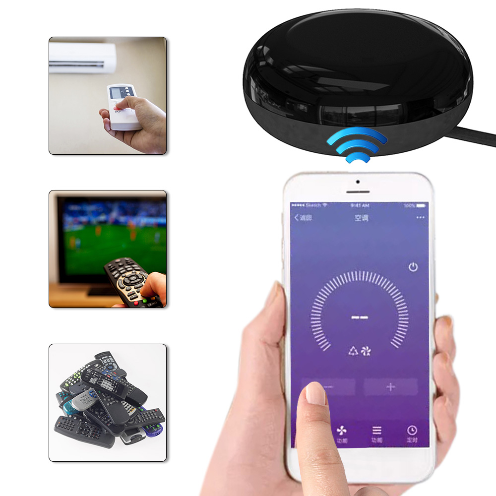 Remote-Control Wifi Smart-Phones Google-Assistant Alexa Android Home IR 1 For Ios UFO-R1
