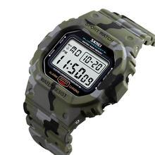SKMEI Outdoor Sport Watch Men Waterproof Digital LED Display
