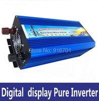 Чистый синусоидальный инвертор 4000 Вт пик 8000 Вт DC 12 В/24 В/36 В к AC 220 В конвертер