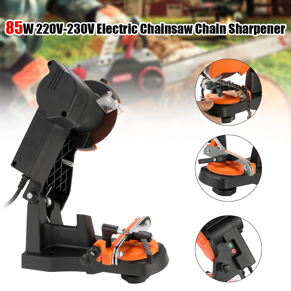 4800RPM 85W 220V 230V Household Electric Chainsaw Chain Sharpener Grinder Grinding Machine Portable Garden Tools Power