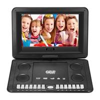 10 Inch DVD Player Double Speaker 270 Degrees Swivel Screen Portable Mobile DVD Player Digital Multimedia Player