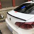 Für Volkswagen Passat CC Sandard 2009 2016 ABS Kunststoff Unlackiert Farbe Hinten Dach Spoiler Flügel Stamm Lip Boot Abdeckung auto Styling-in Spoiler & Flügel aus Kraftfahrzeuge und Motorräder bei