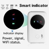 Portable 4G Router LTE 4G Wireless Router Mobile Wifi Hotspot SIM Card Slot Mobile Hotspot Portable Car LTE Router