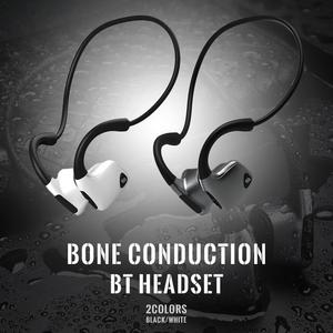 Image 3 - Bluetooth Wireless Kopfhörer Knochen Leitung Headset Mit Micphone Schweiß beweis Für Lauf Radfahren Fitness Schwarz Für S. tragen R9