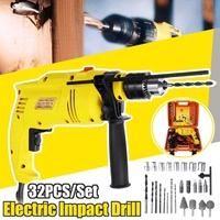 3800RPM Electric Impact Drill 220V 1980W Brushless Motor Cordless Electrical Impact Wrench Cordless Drill Power Tools