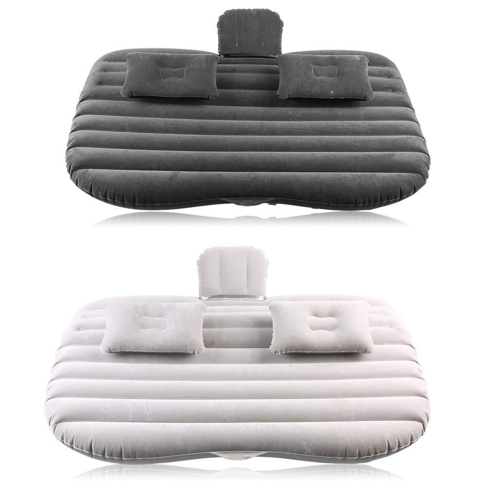 Pumpen Aktiv Auto Aufblasbare Bett Zurück Sitz Matratze Luftmatratze Für Rest Schlaf Reise Camping Schwarz/silber Grau Werkzeug Sanitär