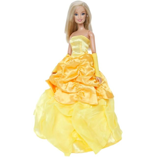 68c46e76c823 Fashion Limited Edition Dress Wedding Party Fairy Tale Wear Copy Bella  Princess Gown Skirt Clothes For Barbie Doll Accessories