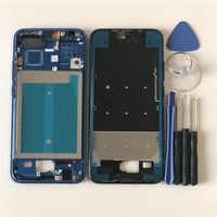 """Original M & Sen pour 5.84 """"Huawei Honor 10 COL-AL00 COL-AL10 COL-L29 boîtier de cadre de lunette avant/cadre de lunette moyen avec touches latérales"""