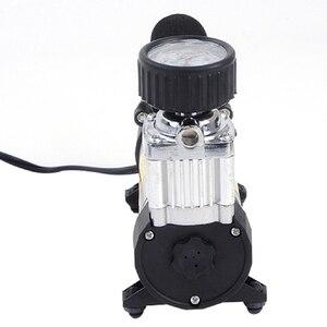 Image 3 - 100PSI 12 12v ポータブルカー電動タイヤ空気ポンプコンプレッサーインフレータミニエアーコンプレッサーエアーインフレーターポンプ 1 セット