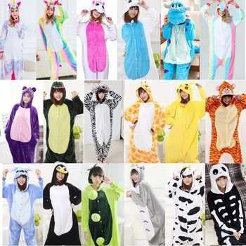 2019 New Kigurumi Pajamas For Adults Unicorn Anime Panda Onesie Costume Warm Winter Sleepwear Blanket Jumpsuit Licorne Sleepwear - DISCOUNT ITEM  41% OFF All Category