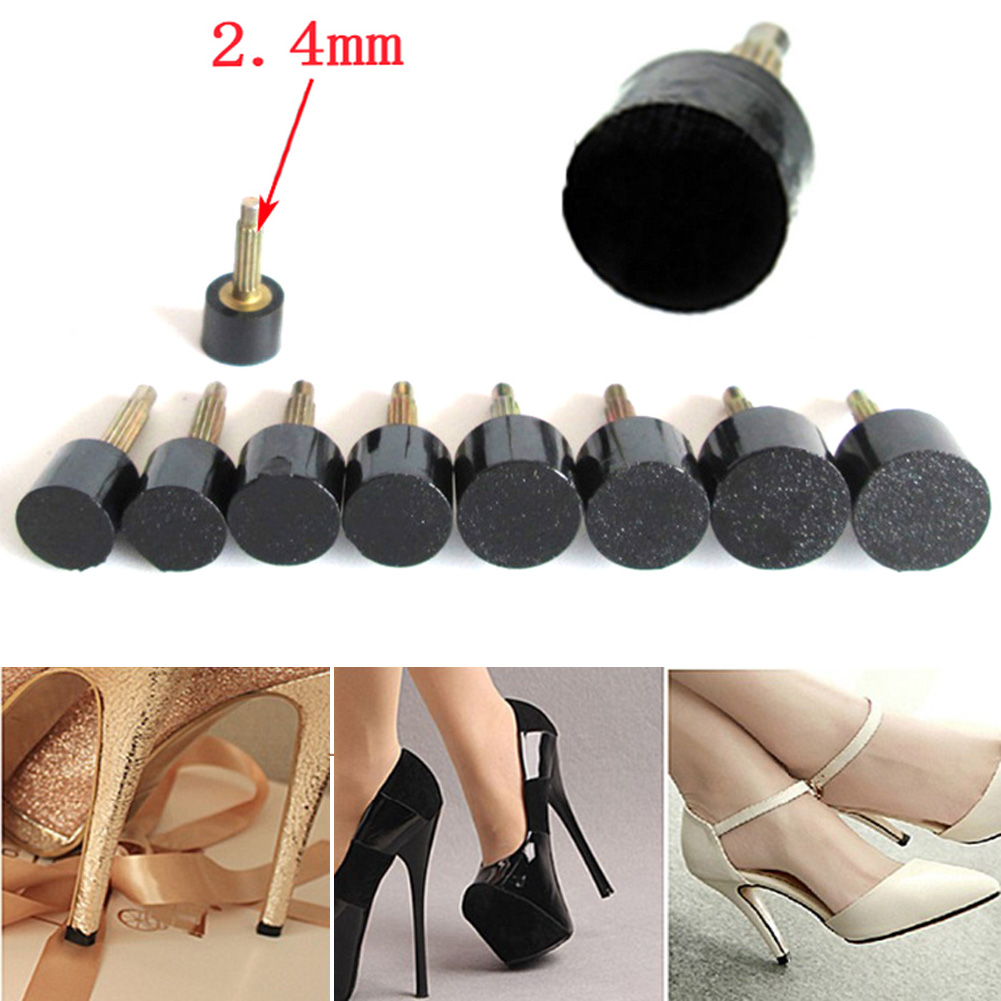 5Pcs/Set Women High Heels Repair Tips Pins For Women Shoes High Heel Tips Taps Dowel Lifts Replacement Heel Stoppers Protector