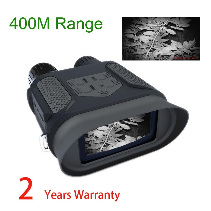 NV400B 400 M gamme IR lunettes de Vision nocturne WG400B jumelles de chasse nocturne NV avec vidéo et image lunette de visée NV pour chasseur
