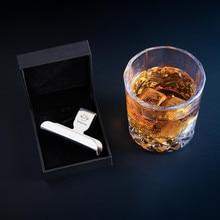 1 шт. практичный гаджет, держатель для виски, стеклянная сигара, креативная нержавеющая сталь, сигарная стойка, подставка для вина, подставка для сигарет