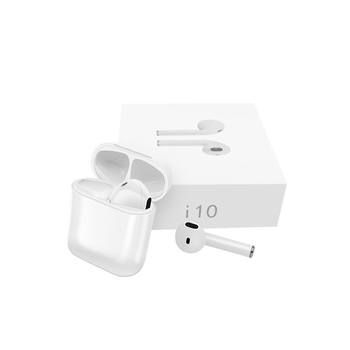 10pcs I10 TWS Wireless bluetooth 5.0 Earbuds Earphone Sports Stereo headset Headphones with Mic Charging box PK I7S I8X I9S Hot