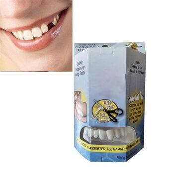 Geçici Diş tamir kiti Kırık Diş Ve Doldurur Boşlukları Diş Tamir