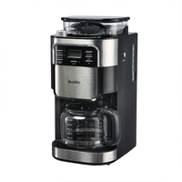 SANQ BARSETTO Household Automatic Coffee Machine Bean Flour Grinding Coffee Maker EU Plug