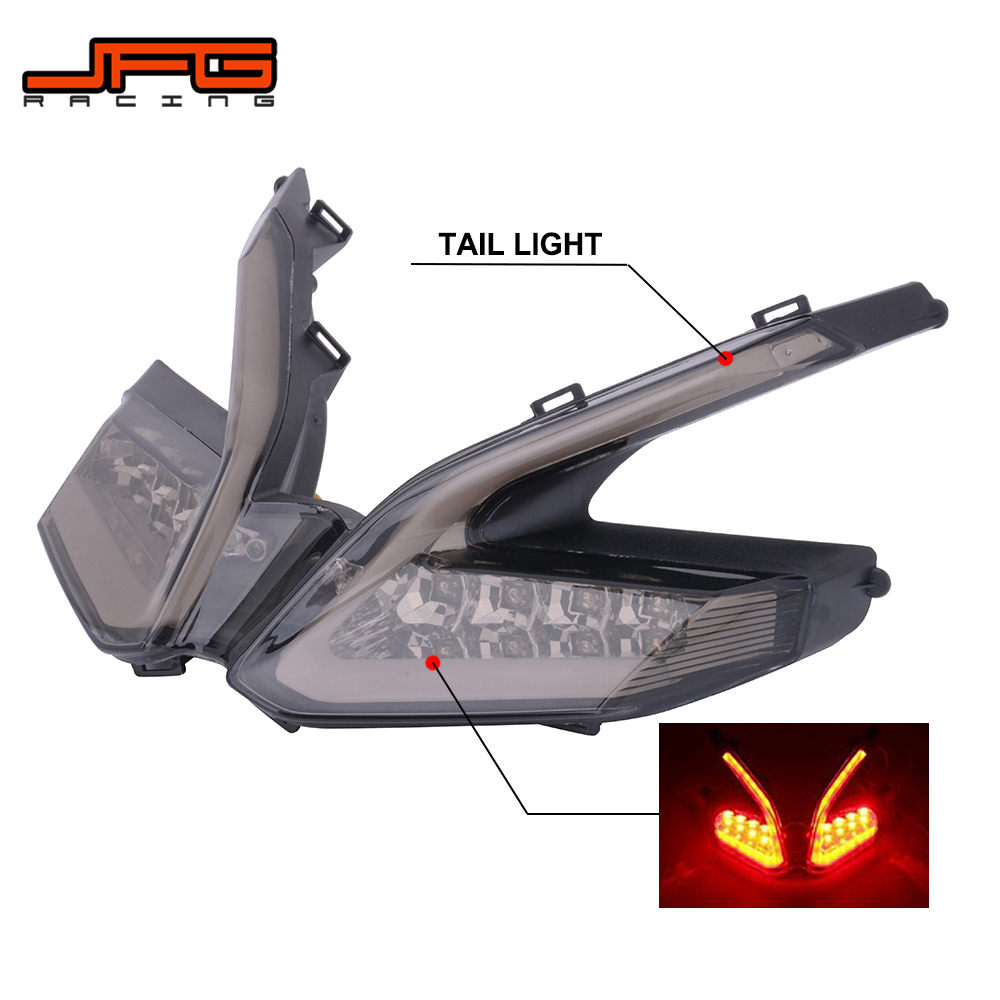 Motorcycle Integrated LED Rear Tail Light Turn Signal Brake Light For Ducati 899 959 1199 1199S 1199R 1299 Panigale Street BikeMotorcycle Integrated LED Rear Tail Light Turn Signal Brake Light For Ducati 899 959 1199 1199S 1199R 1299 Panigale Street Bike