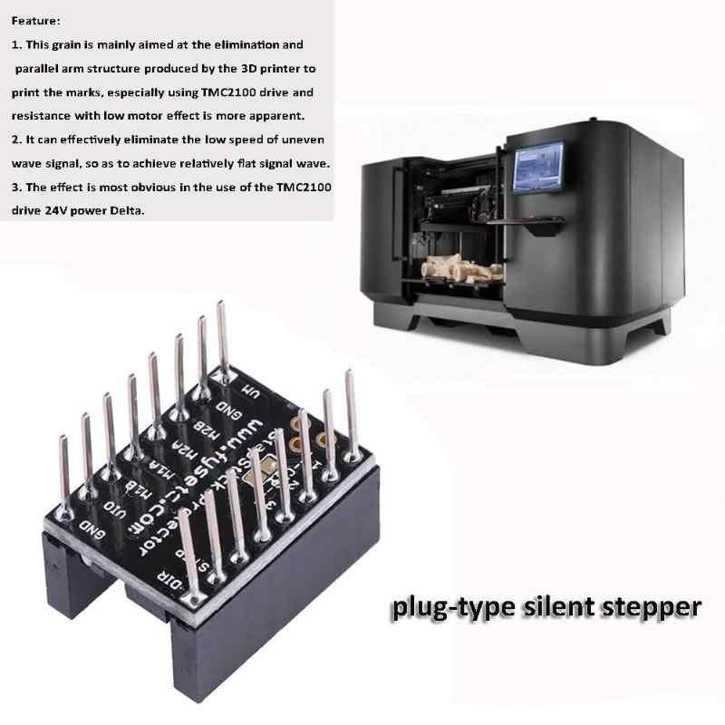 1 шт. бесшумный шаг Защитная палка привод шагового двигателя штекер-тип тихий шаговый для 3D-принтера запчасти драйвер TMC2100 24 В