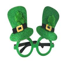 St Patrick Day Glasses Shamrock Hat Eyewear Party Dress Costumes Accessories f2298d0850b2