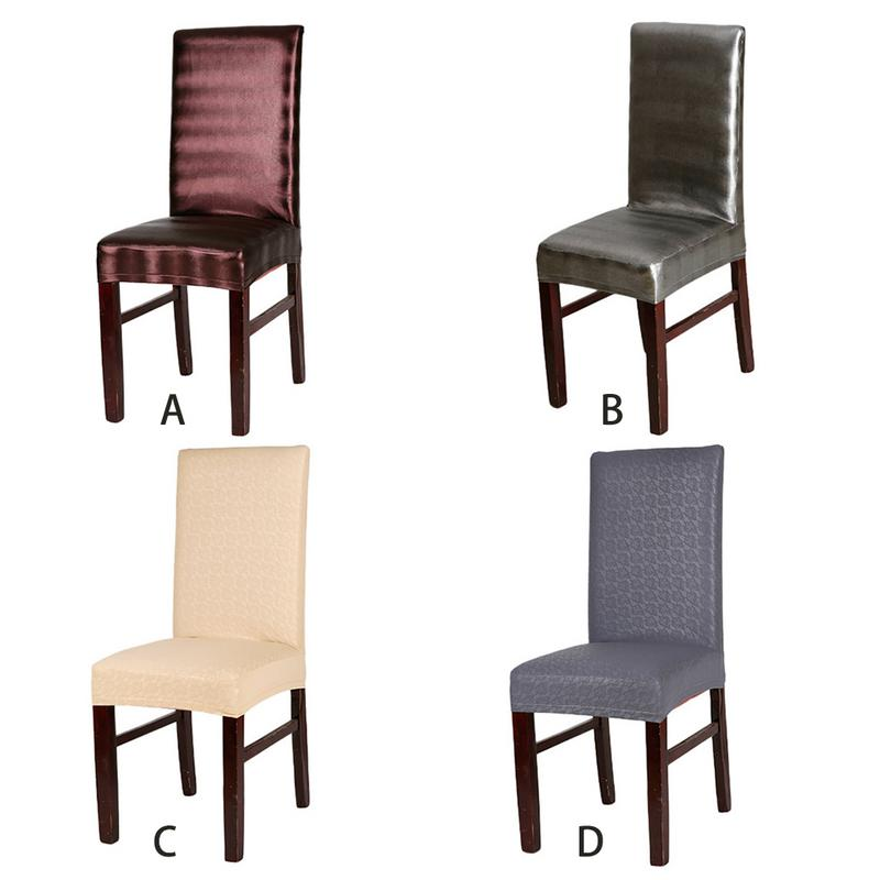 High Quality Dining Chairs: High Quality Waterproof PU Dining Chair Cover Leather