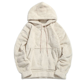 Rebicoo Sweater Men Jumper Acrylic Fashion Solid Long Sleeve Hooded Pockets Tops Sweater Blouse Outwear Mens Sweaters rebicoo sweater men jumper acrylic fashion solid long sleeve hooded pockets tops sweater blouse outwear mens sweaters