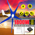 1800 W 12/24/48 V Wind voor Turbine Generator 3/5 Wind Bladen OptionWind Controller Gift Fit voor thuis + Montage accessoires tas