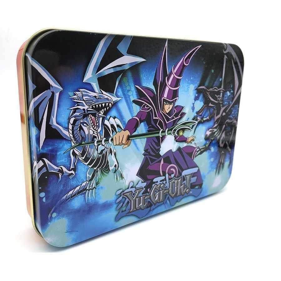 Карты югио Египетский Бог коллекционные игрушки для мальчика бесплатно Yu-gi-oh металлическая коробка фигурки Япония Yu Gi Oh легендарная настольная игра Cartas