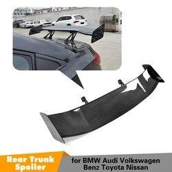 Dla BMW F80 E46 E90 E92 M3 F82 M4 F87 M2 E60 F10 M5 samochód stylizacji z włókna węglowego tylny spoiler szyby bagażnika tylny spojler|Spoilery i skrzydła|Samochody i motocykle -