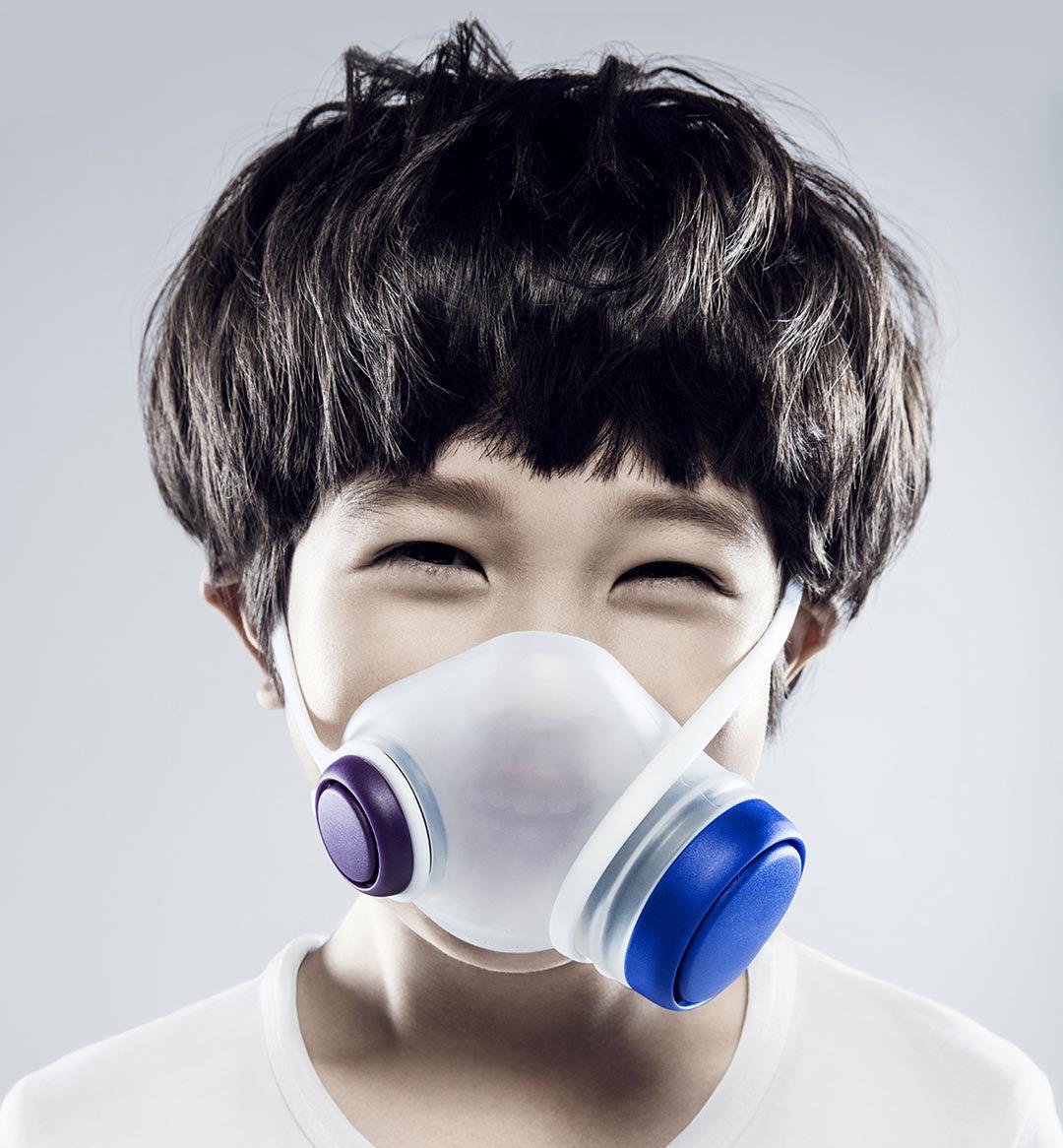 Original Play Children Anti Pollution Mask Anti Breathing Children Safe Respirators Block Dust PM2.5 Haze Anti Pollution Air