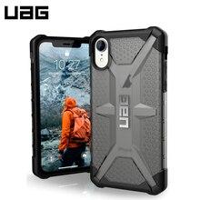 Защитный чехол UAG для iPhone XR серия Plasma цвет пепельный/111093113131/32/4