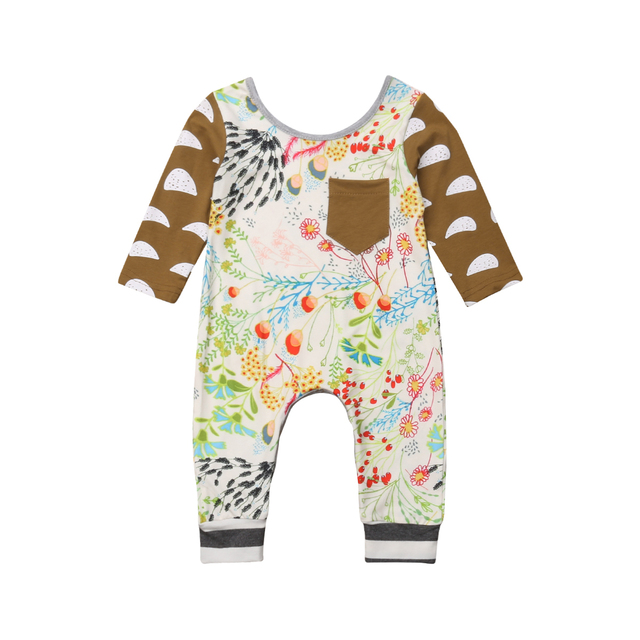 5d38c15b1 Emmababy Newborn Baby Boys Girls Romper Jumpsuit Outfit Clothes Playsuit 2  Style