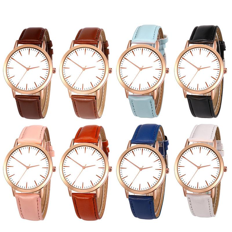 Korean version of the belt strap gift watch Korean casual business high-end watches