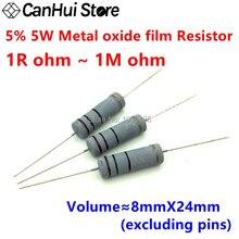 39K Ohm 1//4W Carbon Film Resistor 5/% X50