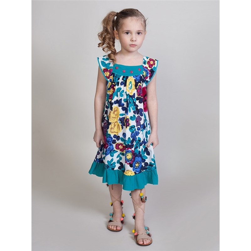 Dresses Sweet Berry Textile dress for girls kid clothes набор для ванной playgo утята 2430