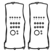 A Pair Engine Valve Cover Gasket Set Fits For BMW E60 E63 E64 E70 X5 4.4i N62 4.8i  11127513194 11127513195|Cyl. Head & Valve Cover Gasket| |  -