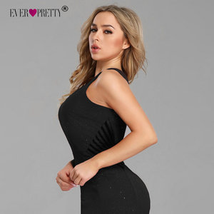 Image 4 - סקסי שמלות נשף ארוך פעם די EP07780 2019 חדש הגעה שרוולים רגל סדק בת ים שחור Sparkle Robe דה Soiree