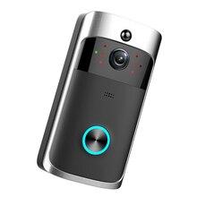 WiFi Visual Door Intercom Smart Wireless WiFi Security DoorBell Smart Video Phone Door Visual Recording IR M3S цены онлайн