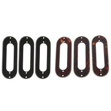 3pcs Metal Single Coil Pickup Mounting Ring for ST Style Guitar Replacements Parts Accessories цена