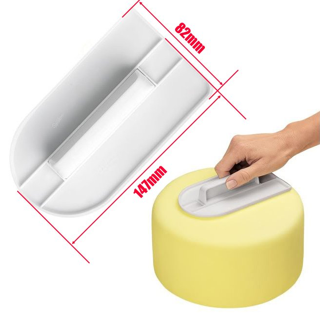 Cake Smoother Polisher Surface Polishing Fondant Decorating Tools Accessories Ustensiles Patisserie in Other Cake Tools from Home Garden