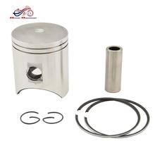 цена на Motorcycle Engine Parts STD Cylinder Bore Size 54mm Piston Ring Kit For NSR250 MC18 87-89 MC21 90-93 MC28 94-96 Rivet dia 15mm