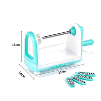 Multifunction Fruit Vegetable Potato Cutter Household Manual Graters Spiral Cutter Stainless Steel Grater Kitchen Tools h5