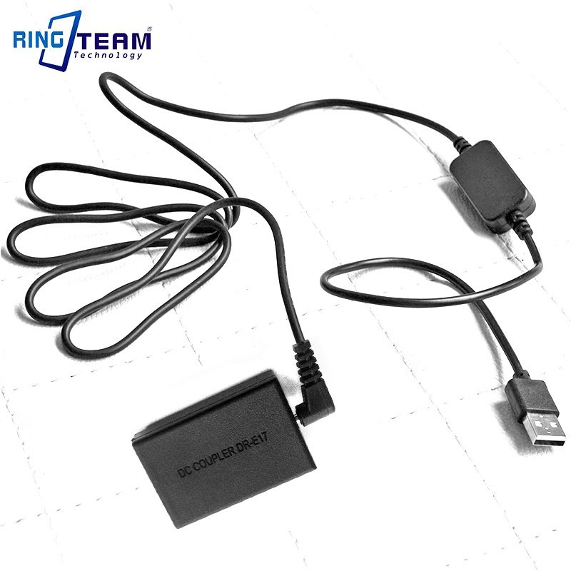 10X CA PS700 ACK E17 USB Cable LP E17 Dummy Battery DR E17 DC Coupler for