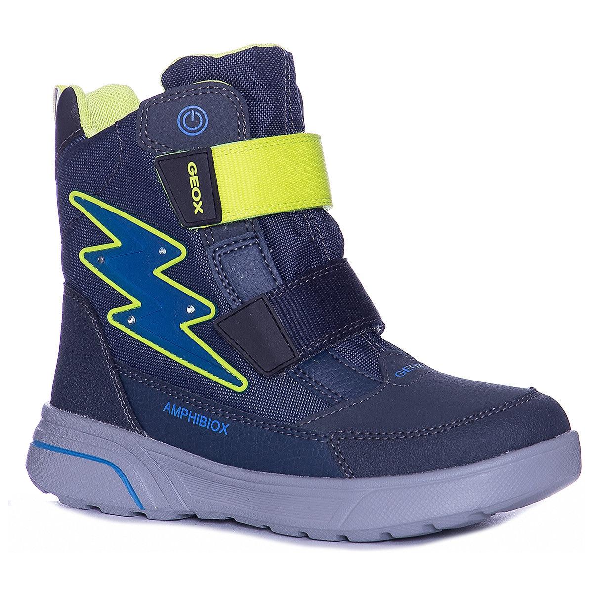 GEOX Boots 8786523 children shoes For boy Winter Boys faux fur MTpromo