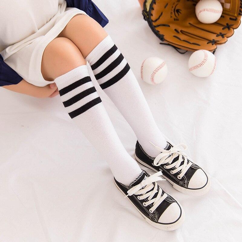 1 Pair Lytwtws Cute Fashion Stripe High Stockings Korea Children Football Stocks1 Pair Lytwtws Cute Fashion Stripe High Stockings Korea Children Football Stocks