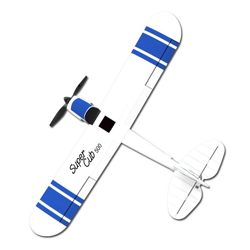 Avion 3CH RC auto-stabilisant cascadeur 500mm envergure pour nouveaux joueurs 2.4 GHz télécommande sans fil jouet avion RC
