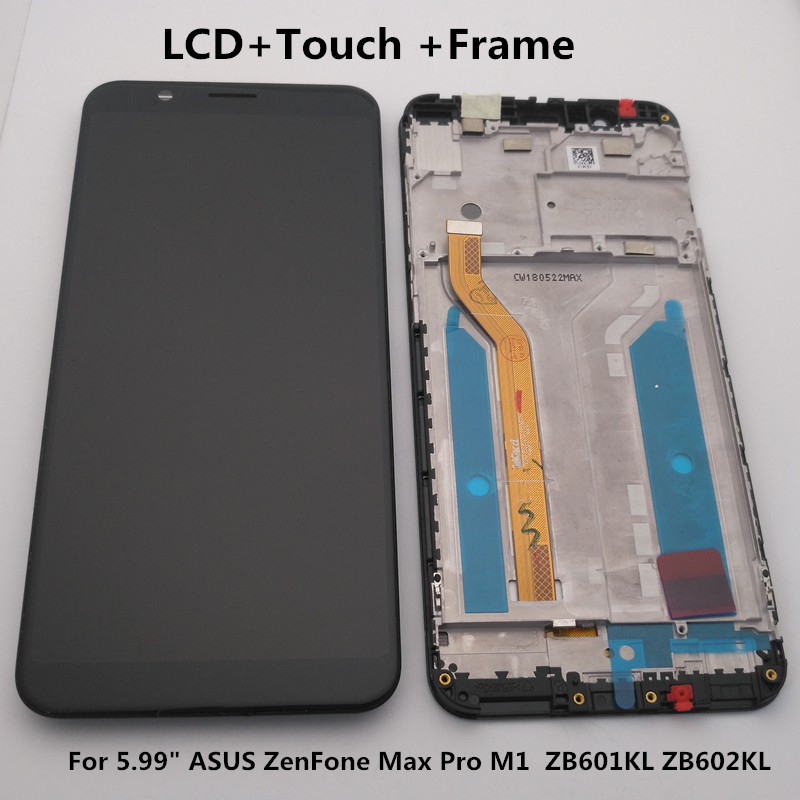 """5.99"""" For Asus Zenfone Max Pro M1 Zb601kl Zb602kl  LCD Display+Touch Screen Digitizer Assembly Zb601kl Zb602kl Display +Tools