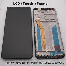 "5.99 ""asus zenfone 5 最大プロ M1 Zb601kl Zb602kl lcd ディスプレイ + タッチスクリーンデジタイザアセンブリ Zb601kl Zb602kl ディスプレイ + ツール"