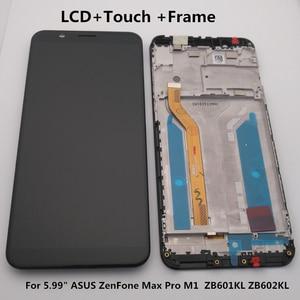 "Image 1 - 5.99 ""asus zenfone 5 最大プロ M1 Zb601kl Zb602kl lcd ディスプレイ + タッチスクリーンデジタイザアセンブリ Zb601kl Zb602kl ディスプレイ + ツール"