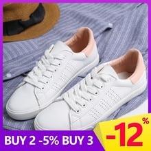 Купить с кэшбэком GOGC White Sneakers Women canvas shoes Spring Summer ons Women Sneakers Flat Shoes Women's slipony women casual G788