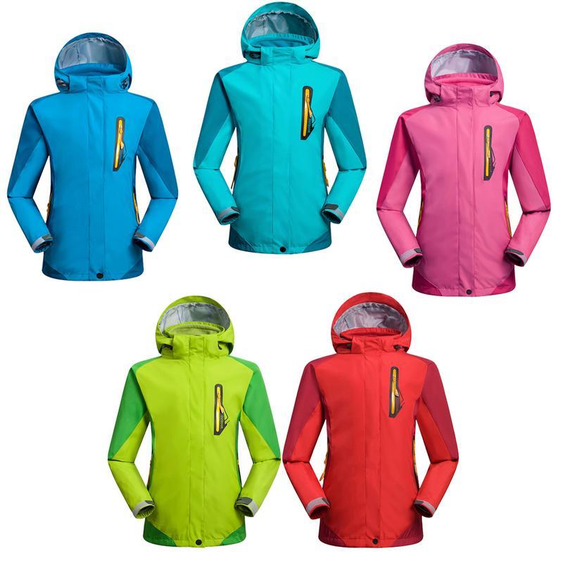 Veste de Camping randonnée en plein air polaire 3-en-1 coupe-vent imperméable à l'eau imperméable à la pluie veste de Ski de montagne chaude costume pour enfants garçons filles